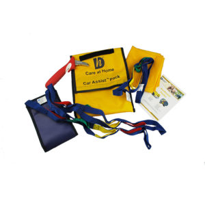 A handy pack to help you or a carer safely support you in and out of vehicles
